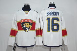 2017 NHL Florida Panthers 16 Barkov white Jerseys