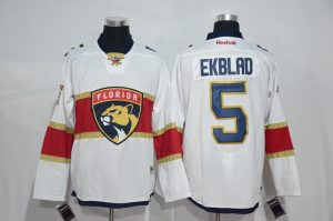 2017 NHL Florida Panthers 5 Ekblad white Jerseys