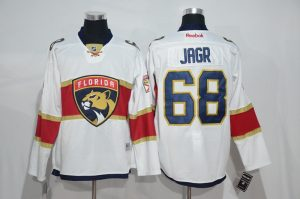 2017 NHL Florida Panthers 68 Jarg white Jerseys