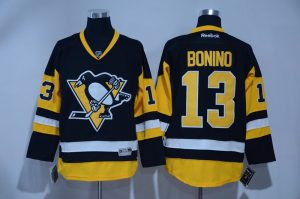 2017 NHL Pittsburgh Penguins 13 Bonino black Jerseys