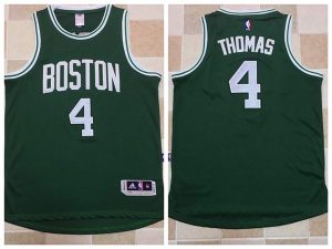 2017 NBA Boston Celtics 4 Isaiah Thomas Green Jerseys