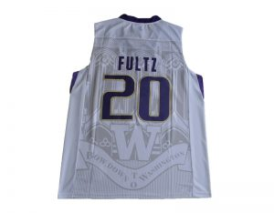 2017 Washington Huskies Markelle Fultz 20 College Basketball Jersey - White